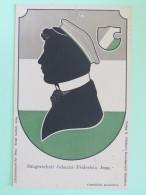 "Germany Around 1920 Unused Postcard """"Jena Johanni Fridericia Arms"""" - Germany"