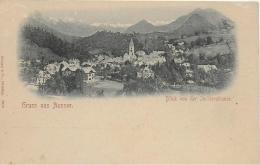 AK 0888  Bad Aussee Von Der Ischlerstrasse - Verlag Stengel & Co Ca. Um 1900 - Ausserland