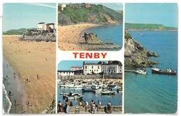 Galles Tenby Non Viaggiata - Pembrokeshire