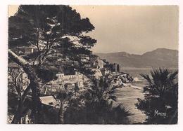 Marseille: La Corniche Vue Des Jardins De La Réserve - éditions Mireille - Années 1940 - - Multi-vues, Vues Panoramiques