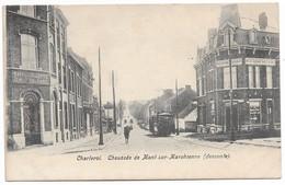 CPA PK  CHARLEROI  CHAUSSEE DE MONT SUR MARCHIENNE  DESCENTE  CARTE ANIMEE - Belgique