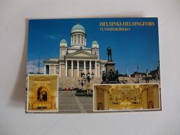 Postcard Postal Finland Helsinki Helsingflors The Cathedral - Finnland