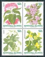 1991 Marshall Fiori Flowers Fleurs MNH** Ye87 - Marshall