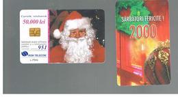 ROMANIA (ROMANIA) - 2000  CHRISTMAS, SANTA CLAUS - USED  -  RIF. 10755 - Romania