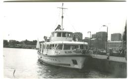 AIA Small Boat Real Photo SWINOUJE Sent 1970 - Polen