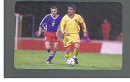 ROMANIA (ROMANIA) - 2001 FOOTBALL: G. HAGI      - USED  -  RIF. 10756 - Romania
