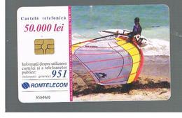 ROMANIA (ROMANIA) - 2001 SURFER      - USED  -  RIF. 10756 - Romania