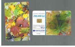 ROMANIA (ROMANIA) - 2001  LEAVES   - USED  -  RIF. 10756 - Romania