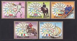 TCHAD N°  286 à 288, AERIENS N° 143 & 144 ** MNH Neufs Sans Charnière, TB (D6793) Sports, Jeux Olympiques De Munich - Chad (1960-...)
