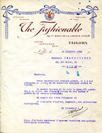 59.NORD.LILLE.VETEMENTS DE SPORTS.COSTUMES.THE FASHIONABLE. TAILORS..89-77 BOULEVARD DE LA LIBERTE - Textile & Vestimentaire