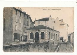 34 SAINT PONS HALLE AUX HERBES - Saint-Pons-de-Thomières