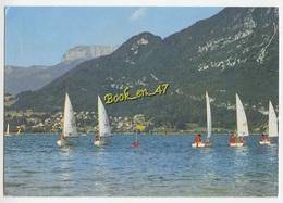 {70436} 74 Haute Savoie Lac D' Annecy , Voiliers ; Animée - Voiliers