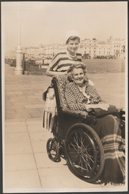 Spink & Anita, Hove Seafront, Brighton, Sussex, 1952 - Photograph - Places