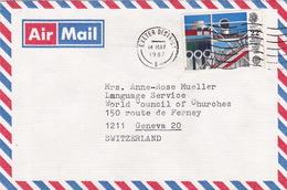 Brief In Die Schweiz (br3119) - 1952-.... (Elizabeth II)
