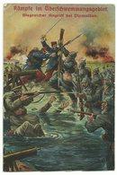 Erster WK Kämpfe Im Überschwemmungsgebiet Bei Dixmuiden 1916 Feldpost - Weltkrieg 1914-18