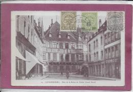 LUXEMBOURG .- Rue De La Reine Et Palais Grand Ducal - Luxemburgo - Ciudad