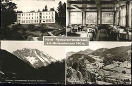 11188856 Mariazellerbahn  Hotel Restaurant Winterbach St. Poelten - Austria