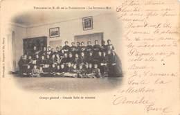 83-LA SEYNE-SUR-MER-PENSIONNAT DE NOTRE-DAME DE LA PRESENTATION - GROUPE GENERALE, GRANDE SALLE DE REUNION - La Seyne-sur-Mer