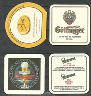 4 Bierdeckel Aus Deutschland - Beer Mats