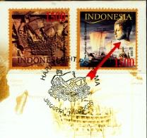 BUDDHISM-BOROBUDUR SHIP EXPEDITION-INDONESIA-FDC-2005-BX1-378 - Buddhism