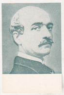 Romania Old Uncirculated Postcard - Vasile Alecsandri ( Green ) - Escritores