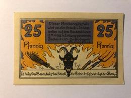 Allemagne Notgeld Brocken 25 Pfennig - [ 3] 1918-1933 : Weimar Republic