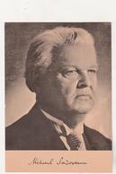Romania Old Uncirculated Postcard - Mihail Sadoveanu - Escritores