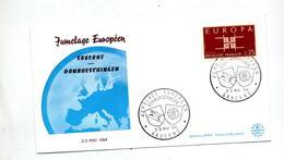 Lettre Cachet Saverne Jumelage Donaueschingen - Marcophilie (Lettres)
