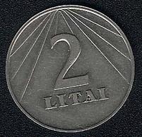 Litauen, 2 Litai 1991, AUNC - Lithuania