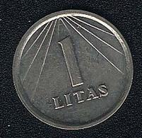 Litauen, 1 Litas 1991, UNC - Lithuania