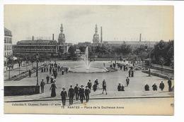 Nantes - La Place De La Duchesse Anne - Nantes