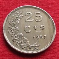 Luxembourg 25 Centimes 1927 KM# 37 Luxemburgo - Luxembourg