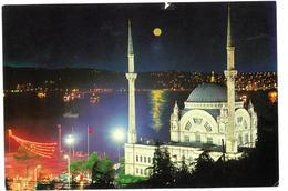 Turchia Istanbul Dolmabahce Mosque And Bosphore Non Viaggiata - Turchia