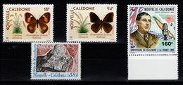 Nlle Caledonie - YV PA 265 / 266 / 267 / 268 N** Cote 11,50 Eur - Luftpost