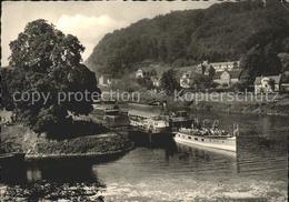 12181931 Dampfer Seitenrad Hannoversch Muenden Zusammenfluss Werra Fulda Weser - Non Classés