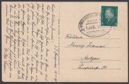 "Bahnpost, ""Schwarzenberg-  Johanngeorgenstadt"", Bedarfs- AK, 1929 - Briefe U. Dokumente"