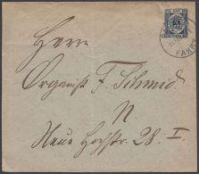 """""""Packetfahrt"""", Bedarfs-GS. 21.2.1899 - Berlin (West)"""