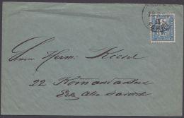 "Ortsbrief ""Packetfahrt"", 18.3.1899 - Berlin (West)"