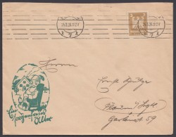 "Mi-Nr. 355, EF Auf Dek. Werbebrief ""Berlin"", 24.3.26 - Briefe U. Dokumente"