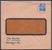 Mi-Nr. 471, EF Auf Sauberem Bedarfsbrief In Die Schweiz, Mkt Ankunftsstpl. - Deutschland