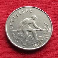 Luxembourg 1 Franc 1955 KM# 46.2 Luxemburgo - Luxembourg