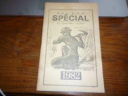CB6 Programme Publicités  Locales Jumet Les Vaillants Bleus Livret 1982 - Programma's