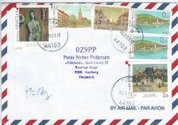 Croatia Airmail. - Cover  Sent To  Denmark  H-1111 - Croatia