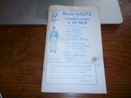 CB6 Programme Publicités  Locales Jumet Les Vaillants Bleus Livret 1985 - Programma's