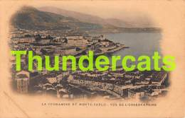 CPA LA CONDAMINE ET MONTE CARLO VUS DE L'OBSERVATOIRE - La Condamine