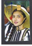 ROMANIA (ROMANIA) - 2003 TRADITIONAL WEAR, GIRL  - USED  -  RIF. 10758 - Romania