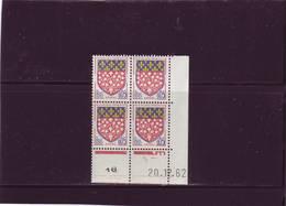 N° 1352 - 0,05F Blason D'AMIENS - A De A+B - 2° Tirage Du 10.12.62 Au 2.01.63 - 20.12.1962 - - 1960-1969