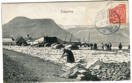 Iceland/Islande/Ijsland Vintage Postcard Ísafjörður Used - Iceland