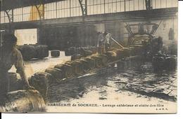 25 - Sochaux - Brasserie De Sochaux - Lavage Extérieur Et Visite Des Fûts - Sochaux