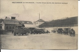 25 - Sochaux - Brasserie De Sochaux - Sortie D'une Partie Du Matériel Roulant - Sochaux